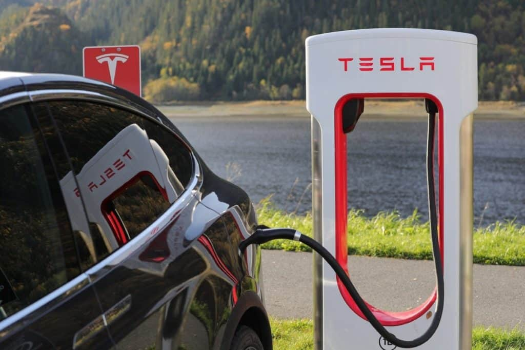 charge tesla at home